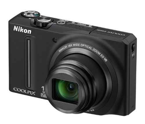 Nikon COOLPIX S9100 12.1 MP CMOS Digital Camera