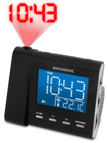 AM/FM Projection Clock Radio
