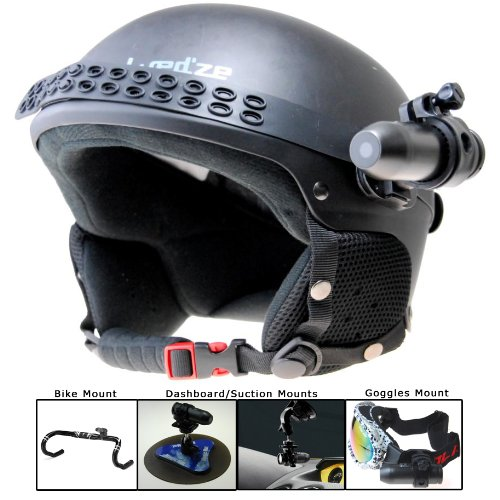 BulletHD Waterproof 12.0 MP 720p HD Helmet Camera
