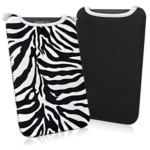 BoxWave Zebra Plush Kindle SlipSuit