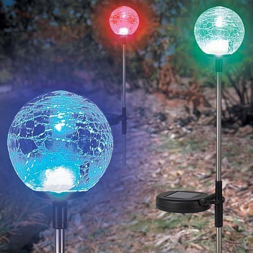 Solar Garden Balls