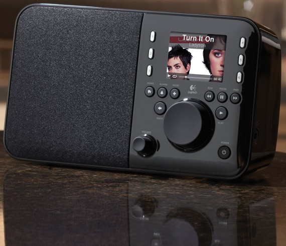 Squeezebox Radio Music Player with Color Screen