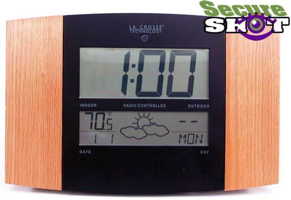 Cordless Atomic Clock Nanny