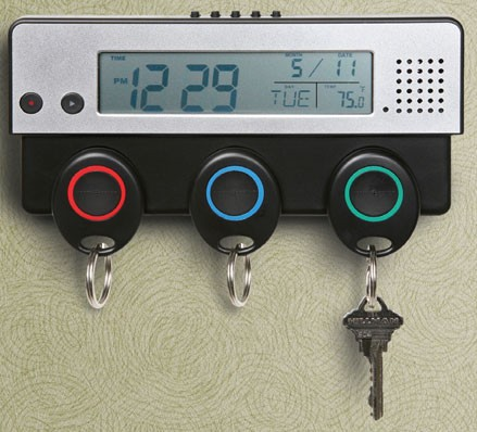 Timesaver Key Holder,Voice Messaging System, Date and Time