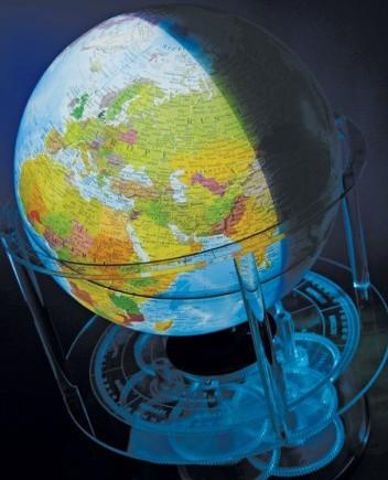 Discovery Time Zone Globe