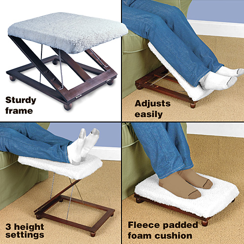 4 IN 1 ELEVATOR FOOT STOOL