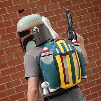 Boba Fett Plush Rocket Backpack