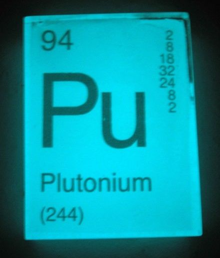 SOAP PLUTONIUM -glows in the dark