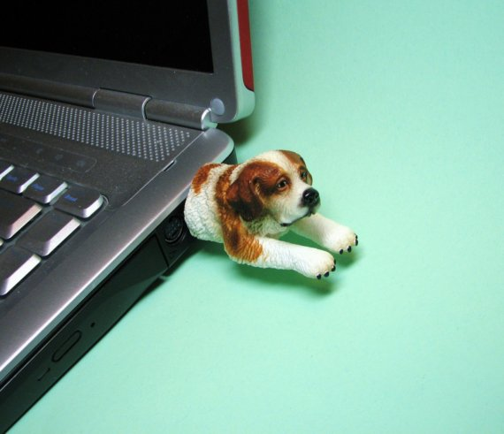 St. Bernard Dog USB Flash Drive