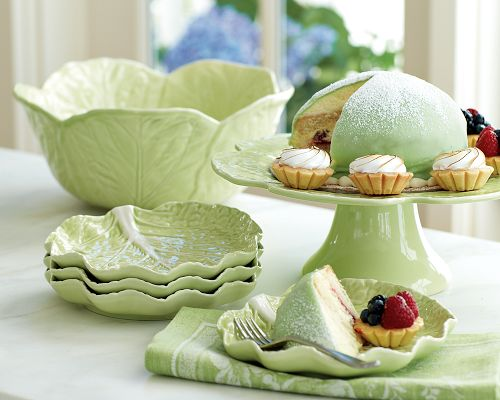 Cabbage Dinnerware Collection