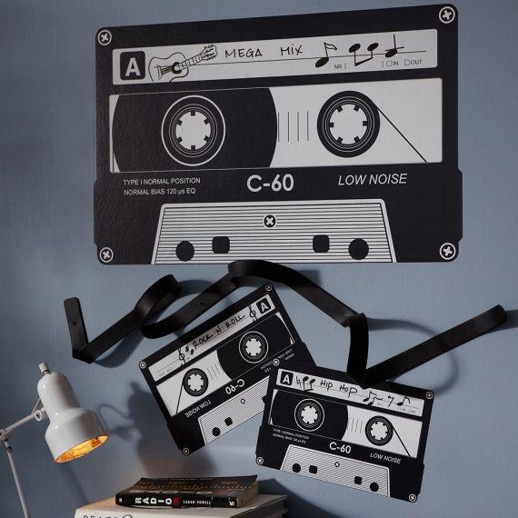 Cassette Tape Decal + Hook