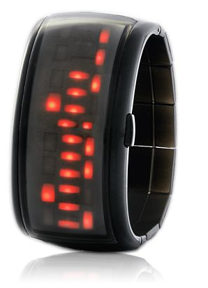 Japanese Red LED Watch