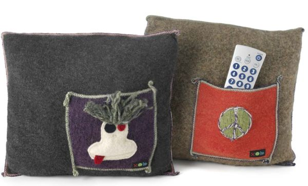 UPCYCLED WOOL POCKET PILLOWS