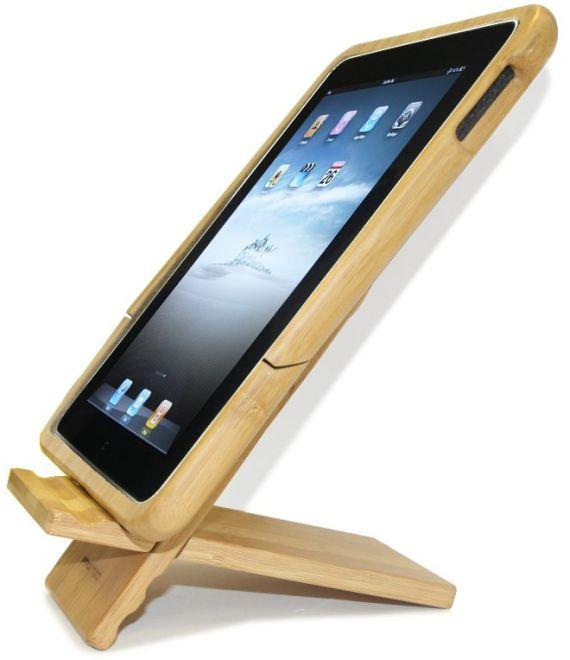 Ipad 2 Stand Pure Bamboo