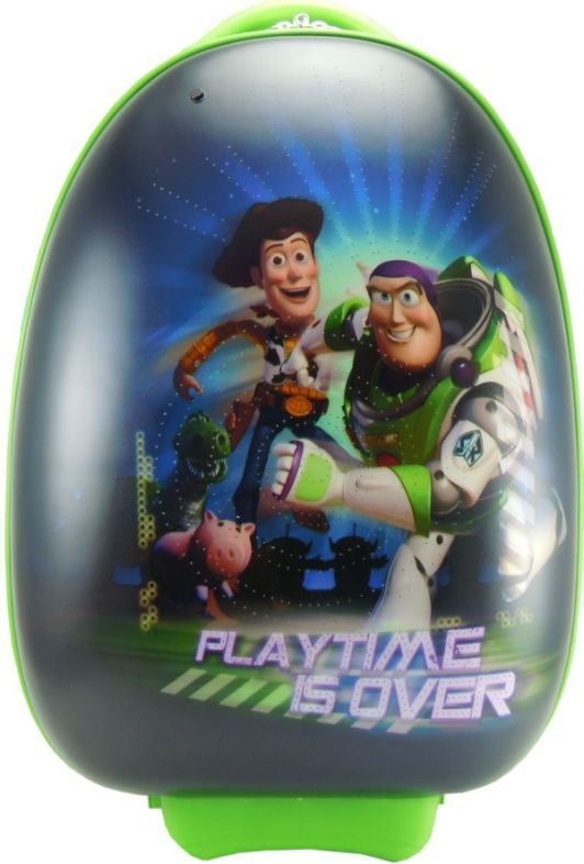Disney Kids Carry On Luggage with Fiber Optic Lights Cars Tinker Bell Toy Story Princess