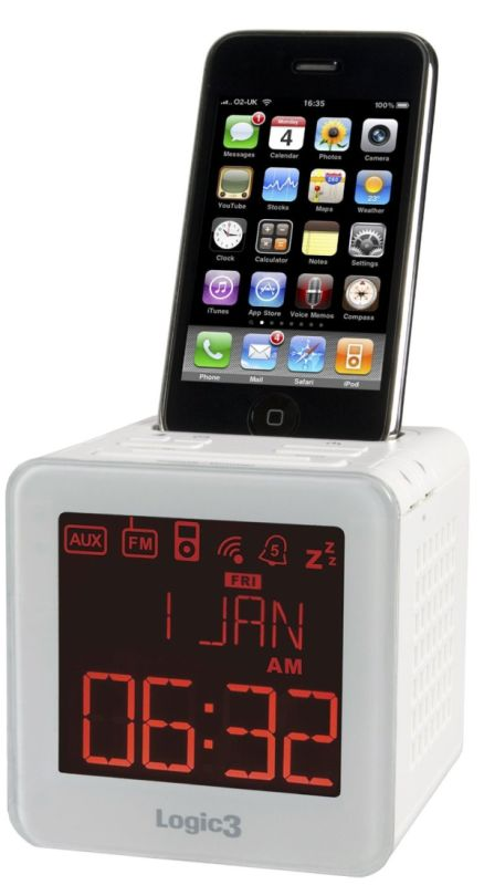 Logic3 i-Station TimeCube for iPhone and iPod