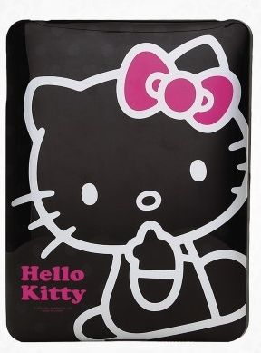 Hello Kitty Black iPad Case