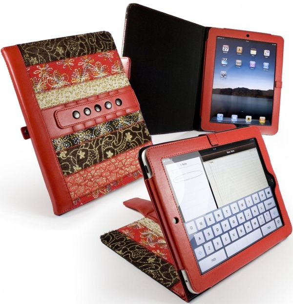 "Tuff-Luv Marrakesh Multi-View ""Stasis"" Series: Case Cover for Apple iPad 2"