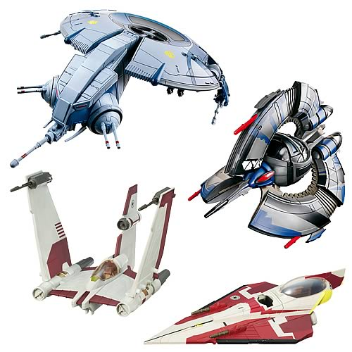 Star Wars and Clone Wars Vehicles Wave 4
