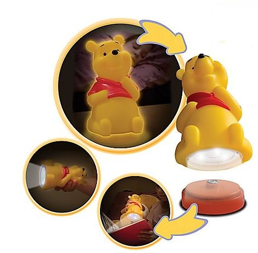Spearmark Winnie The Pooh Bedside Buddy Torch