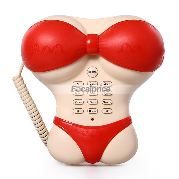 Plastic Underwear shape Home Telephone