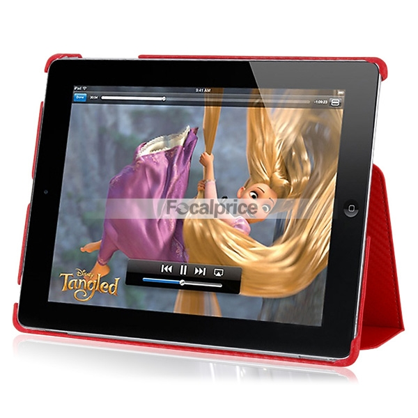 Leather Folding Case Cover Pouch for Apple iPad2