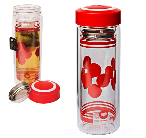 GLASS TEA TUMBLER