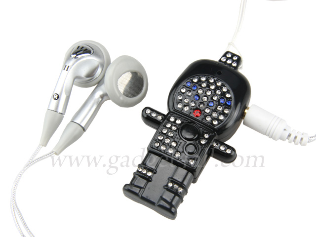 Bling Bling Robot MP3 Player