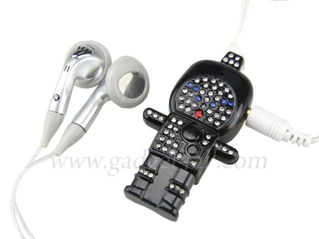 Bling Bling Robot MP3 Player