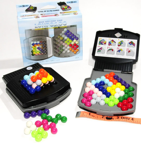 Lonpos Colorful Cabin Brain Teaser Puzzle