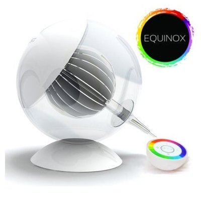 Equinox Translucent Color Changing LED Ambiance Lamp