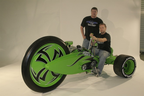 Green Machine is the Hummer of tricycles