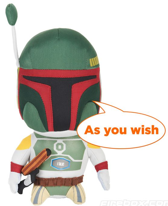 Boba Fett Talking 9″ Plush