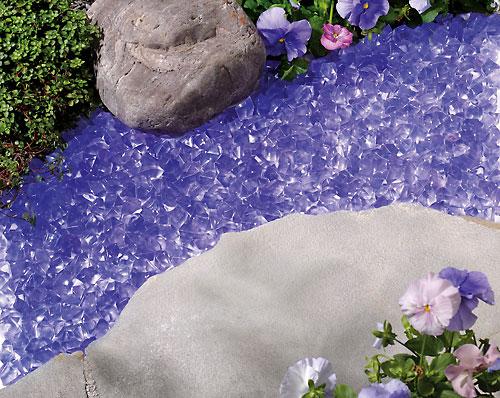 Lavender Glow Garden Stones