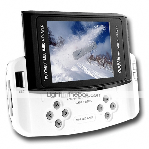 4GB 2.8-inch MP4 /Game MP3 Player Slip Design