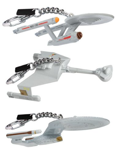 Star Trek Starship Collectible Keychains