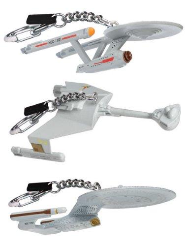 Star Trek Starship Collectible Keychains