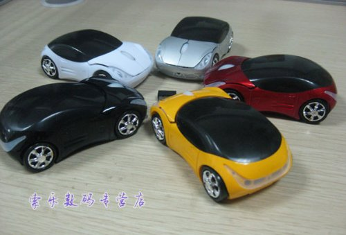 Second Generation Car USB 2.4g Wireless Optical Mouse Mice