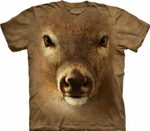 Deer Face The Mountain Tee Shirt