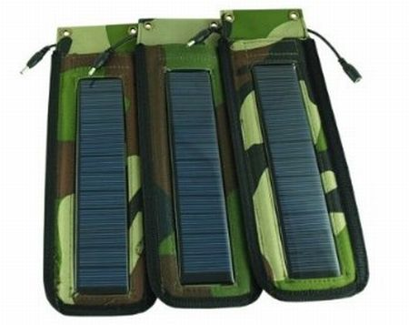Outdoor Portable Travelling Solar Charger for iPod