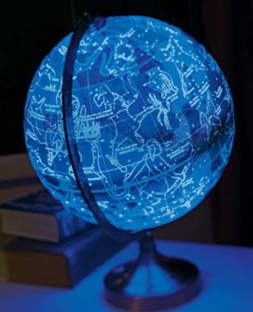 Illuminated Rotating Universe Globe