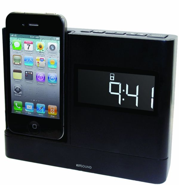 XDOCK Clock Radio Dock for iPod/iPhone 4/3GS/3G