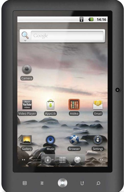 Coby Kyros 7″ Touchscreen Internet Android 4G Tablet Bundle