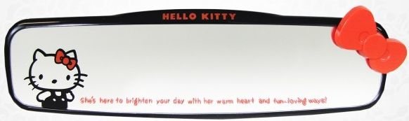 Hello Kitty Car Rear View Mirror