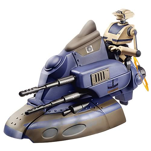 Star Wars Clone Wars Armored Scout Tank with Tactical Droid