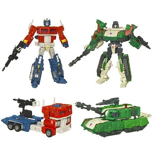 Transformers Optimus Prime vs. Megatron