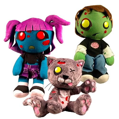 Creepy Cuddlers Series 2 Zombies Plush Case