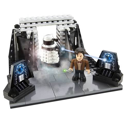 Doctor Who Building Dalek Progenitor Room Mini Set