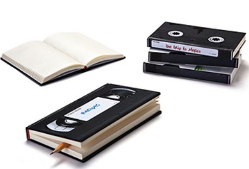Video lined notebook Notebook