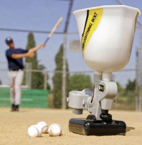 Lightning Bolt Pitching Machine